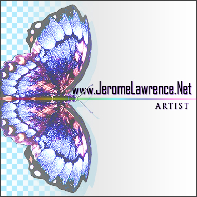 New Logo Jerome Lawrence Art