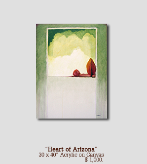 Heart of Arizona size 30w x 40h