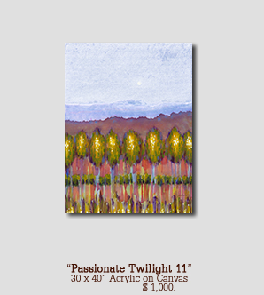 Passionate Twilight 11 size 30w x 40h