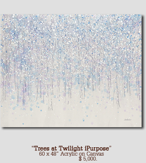 Trees at Twilight iPurpose size 60w x 48h